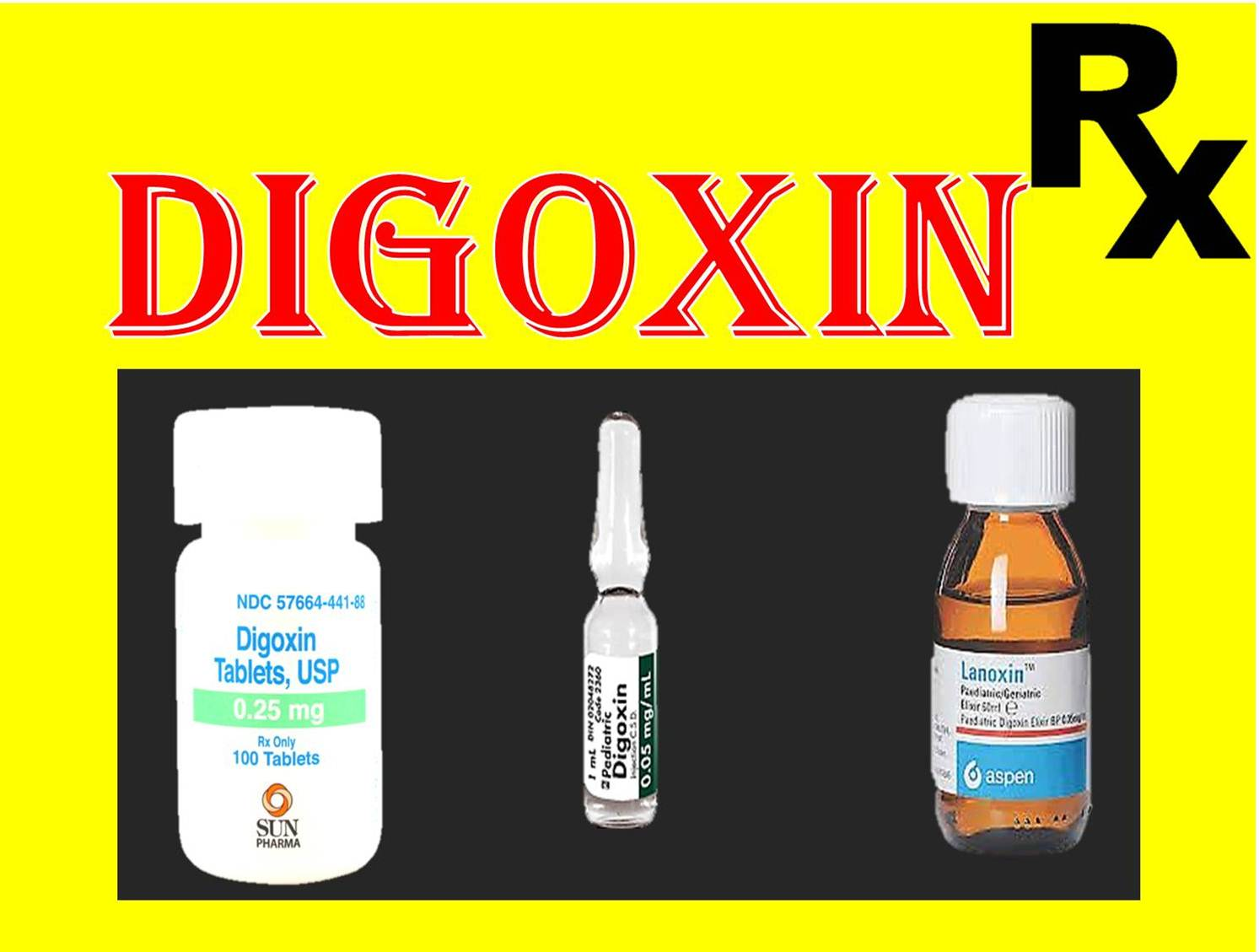Digoxin drug full information