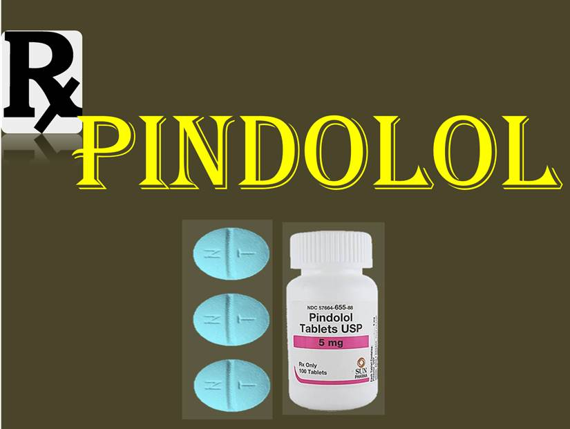 Pindolol cover page