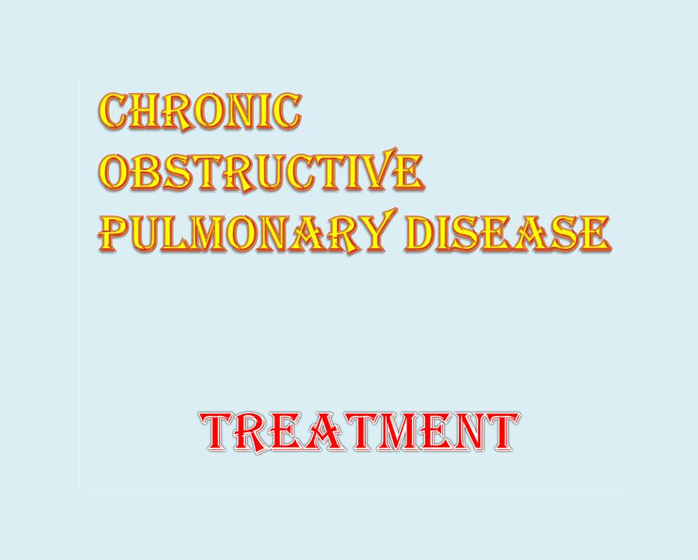 Chronic Obstructive Pulmonary Disease diagnosis and treatment