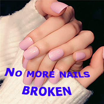 No more nails broken